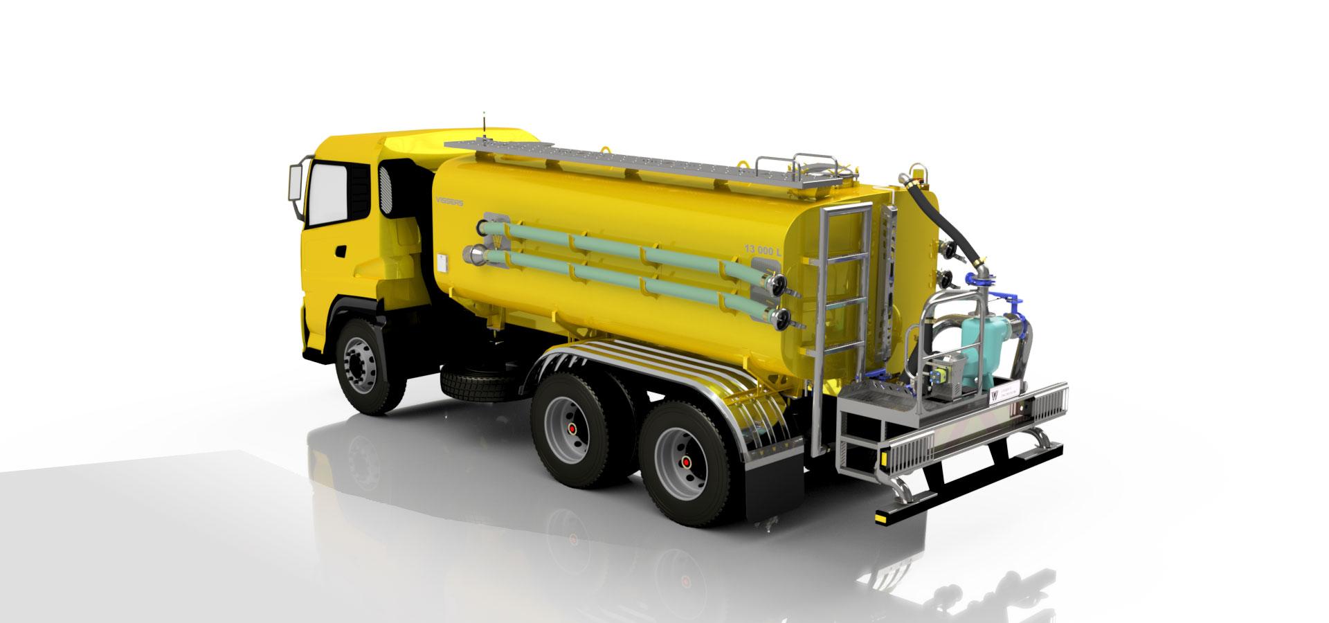 Water Tanker – Vissers Engineering